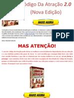 Baixar eBook Livro Codigo Da Atracao 2.0 Versao 2013