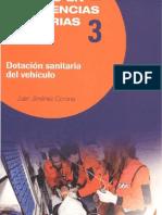 Dotación sanitaria del vehículo