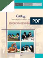 Catálogo Recursos Secundaria