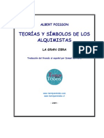 Teorías y simbolos de los alquimistas Traducción by ISMAEL BERROETA