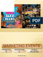 Marketing an Event Ppt