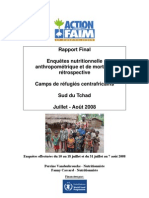 ACF, Rapport Final