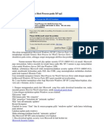 Cara Mengatasi Generic Host Process Pada XP Sp2