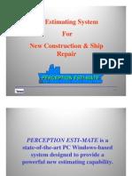 Perception Esti-mate Presentation