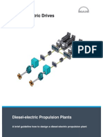 Diesel Electric Propulsion Plant - MAN