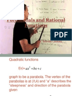 polynomials and rational functions