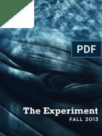 The Experiment Fall 2013 Catalog