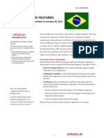 Oracle EBS Country Specific Brazil