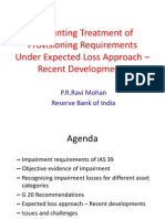 Accounting Treatment of Provisioning Requirements Under Expected Loss -CAFRAL Sep 2012