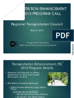 TRANSPORTATION ENHANCEMENT 