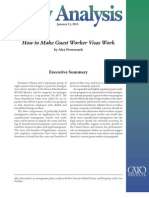 How to Make Guest Worker Visas Work