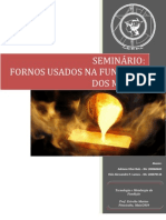 57171310 Seminario Fornos Usados Na Fundicao Dos Metais