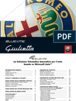 Blue & Me Alfa Giulietta