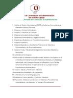 Ámbitos laborales del licenciado en administración