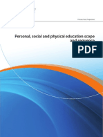 personal social and physical education