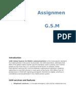 GSM word file