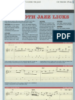 Guitar - 10 Smooth Jazz Licks
