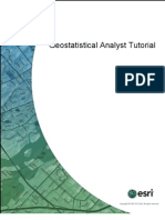 Geostatistical Analyst Tutorial