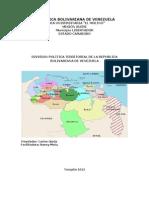 86825096 Division Politico Territorial de Venezuela