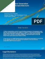 2013 Silvermont Intel presentation