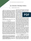 XML Schema Automatic Matching Solution