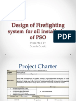 Design Firefighting System for Oil Installation of PSO