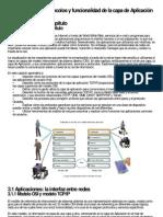 CAPITULO 3 Protocolos y funcionalidad de la capa de Aplicación