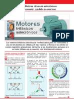 Motor Asincronico Trifasico , Falta de Una Fase