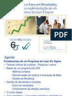 Programa de Lean Six Sigma - PMO Corporativo