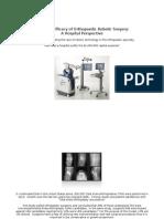 Economic Efficacy of Orthopaedic Robotic Surgery (1)
