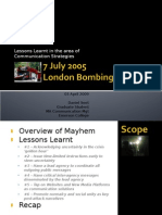 IABD2009 London Bombing Presentation