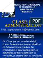 Administracion Por Clases