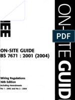 bs7671 iee on site guide