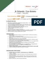 Florida a Tu Alcance Con Tiquete Glx 01feb13 20dic13