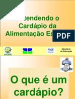 Cardc3a1pios e Teste de Aceitabilidade