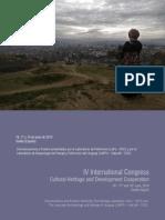 2010 Actas IV Congreso Internacional Patrimonio Cultural