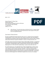 Group Letter Re May 7 Hearing