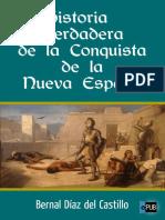 Bernal Díaz del Castillo. Historia Verdadera de la conquista de la Nueva España (v1.0 Bercebus)