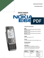 Nokia E66 Service Manual
