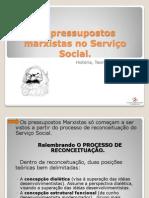Os pressupostos marxistas no Serviço Social