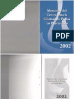 Memorias 2002