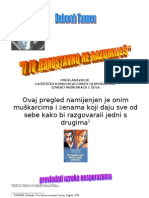 Tannen d. - Prevladavanje Mu`Ko - }Enskih Komunikacijskih Nesporazuma...Prikaz