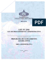 Ley Proc. Adm.
