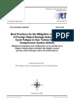 Best Method FOD Induced HCF Executive Summary