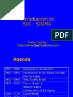 Intro to Six Sigma