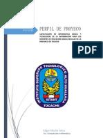 Perfil de Proyecto 2013