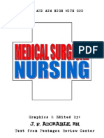 44741463 Medical Surgical Nursing With Mnemonics