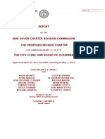 Report of the 2002 Charter Revision Commission, revised to 2013