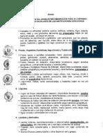 Lista de Alimentos Saludables Recomendados - Quioscos Saludables - ANEXO