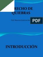 DERECHO DE QUIEBRAS. Introducción